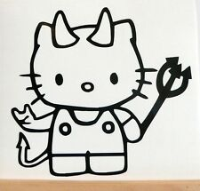 Adesivo Hello Kitty auto moto scooter wall sticker decal vynil vinile baby cat