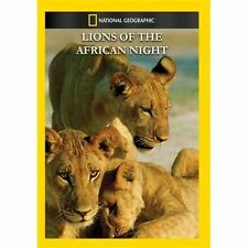 NATIONAL GEOGRAPHIC VIDEO - LIONS OF THE AFRICAN NIGHT NEW DVD