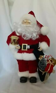 "Santa Figurine 15"" New"