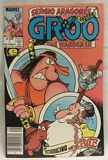 Sergio Aragone's Groo The Wanderer #7 by Marvel Comics (Sept 1985) + Bag & Board