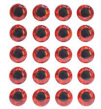 100 3D Irisierende Augen Ø 7mm GILCHRIST FLIEGEN