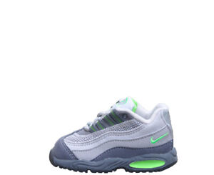 Vintage 90s Baby Nike Air Max 95 Graphite / Mean Green DS 1999