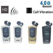 Fineblue F920 Inalámbrico Bluetooth V4.0 Auricular Auriculares llamadas vibración Clip