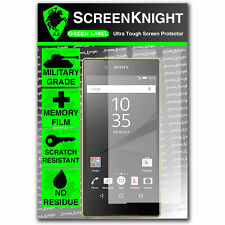 ScreenKnight Sony Xperia Z5 FRONT SCREEN PROTECTOR invisible military shield