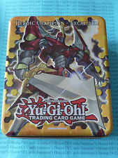 Yu-gi-oh Collector's Tin 2012 Heroic Champion - Excalibur *EMPTY* New