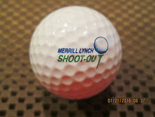 LOGO GOLF BALL-1994 MERRILL LYNCH SHOOT-OUT AT MID OCEAN CLUB-BERMUDA..RARE!!!
