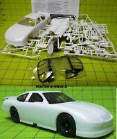 DONOR NASCAR 1989-1992 FORD THUNDERBIRD STOCK CAR KIT w//9 hole Wheel WHITE