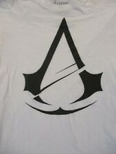 M white ASSASIN'S CREED UNITY logo t-shirt by ASSASIN'S CREED