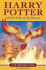 Harry Potter and the Order of the Phoenix von Joanne K. Rowling (2003, Gebundene Ausgabe)
