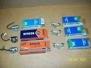 3 sets Dodge,Chrysler,Desoto,Plymouth 6 & V8  POINT/CONDENSER pairs