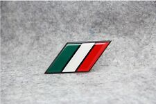 IT Italy National flag Aluminium Metal Badge Decal Emblem Sticker For Fiat