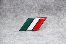 Italy National flag Aluminium Metal Badge Decal Emblem Sticker For IT Luxury Car