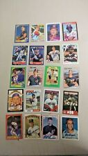 WY0365 LOT OF 20 CLEVELAND INDIANS  AUTOGRAPH  BASEBALL CARDS