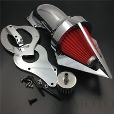 For Honda Shadow 600 VLX600 VLX 1999-2012 Chrome Cone Spike Air Cleaner Kits