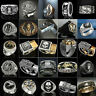 Vintage Gothic Punk Skull Ring Cool Men's Band Stainless Steel Rings Jewelry