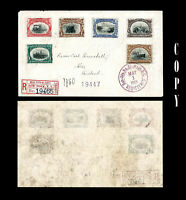 USA 1901 1c-10c Pan-American . Complete set,   Registered, May 1, 1901, COPY
