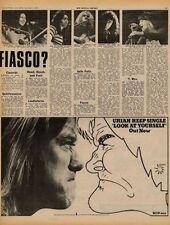 Uriah Heep Look At Yourself UK LP Advert 1971 #2