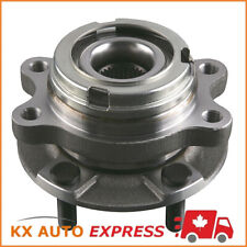 Front Wheel Hub & Bearing Assembly fits left or right side for Infiniti Nissan