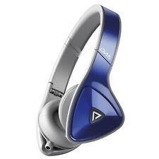 Monster DNA Headphones - Navy Blue & Grey, On Ear, Noise Isolation, New