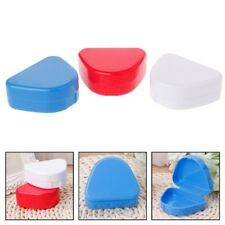 1PC Dental Orthodontic Retainer Denture Bath Mouthguard Storage Box Case Tray