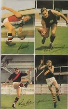 Australian Rules Football 1965 Mobil petrol company collector cards set of 40