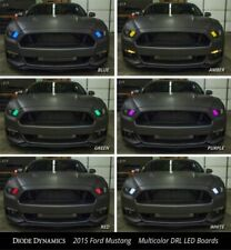 Pair LED DRL Boards for 2018-2019 Shelby GT350 (Multi Color W/ Bluetooth)