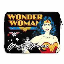 DC Wonder Woman Slim Soft Laptop Sleeve 15 Inch - Cover Case Comics