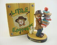 Flambro Little Emmett Kelly Clown September Birthday Figurine Statue Figure Used