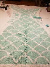 Mermaid Tail Bath Rug Crystalized Green - Pillowfort