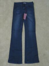 New with Tags Women's Makers of True Originals Trouser Blue Jeans Pants Size 25