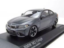 BMW M2 Coupe 2016 grau metallic, Modellauto 1:43 / Minichamps