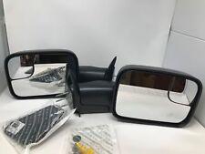 98-02 Dodge Ram 1500 2500 3500 Manual Trailer Tow Towing Mirrors Set of 2 Mopar
