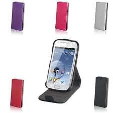Stand Funda Con Tapa Plegable Para Móvil Smartphone Protectora Estuche