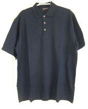 Denver Hayes Marineblau Polo Kurzarm Shirt L Large NWOT Neu