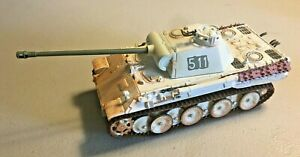 Corgi Diecast WW2 German Panther Tank Russia Barbarosa 1/43