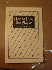 HOW TO PLAY THE PLAYER PIANO INSTRUCTIONS & GUIDE by George L. Albig-reprint NOS