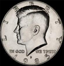1985 D Kennedy Half Dollar - BU