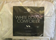 Hotel Collection White Down Comforter Full/Queen Medium Weight $560