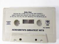 Aerosmith - Greatest Hits cassette 1980 Columbia