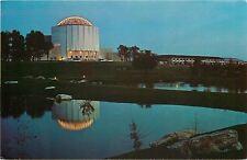 Hershey Pennsylvania~Milton Hershey School~Founders Hall Night Lights~1970s PC
