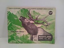 Nice Vintage Maryland Arms 1965-66 Catalog Baltimore, Md