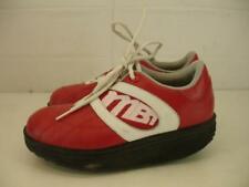 MBT Masai Lifestyle Red Fitness Rocker Walking Toning Shoes Womens 8.5 Mens 6.5