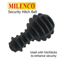 Milenco Security Hitch Ball