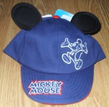 NWT Disney Mickey Mouse 3D Ears Baseball Hat Cap Size 0-3 mos Disneyland World