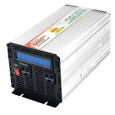 Pure Sine Wave 12V DC to 110V AC Power Inverter Charger 1200W PIUB-1200-12X