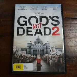 GOD'S NOT DEAD 2 DVD - Melissa Joan Hart, Pat Boone (Region 4) **VERY RARE**