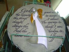 New listing Serenity Prayer Stepping Stone Or Wall Hanging