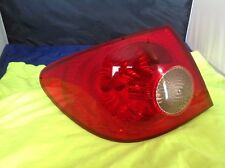 Toyota Corolla Taillight Rear Tail Stop Lamp OEM 2005 2006 Left Quarter OEM