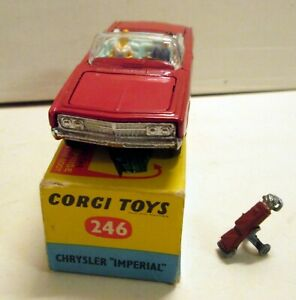 Corgi Toys 246 Chrysler Imperial Convertible,      original