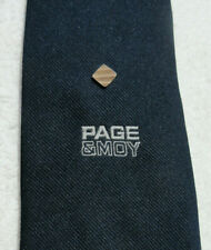 PAGE & MOY ESCORTED TOUR COMPANY NECK TIE